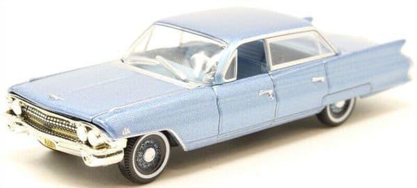 OXFORD 87CSD61003 1/87 HO Scale CADILLAC SEDAN DEVILLE 1961 NAUTILUS BLUE